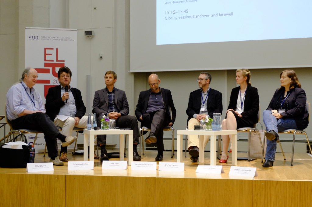 ELPUB 2016 panel discussion