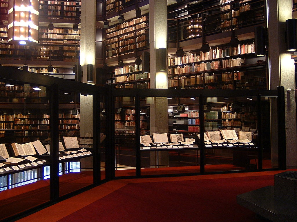 Thomas Fisher Library-Exhibition_area