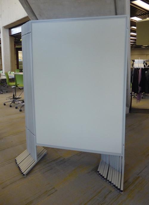 Photo of upright bulletin boards