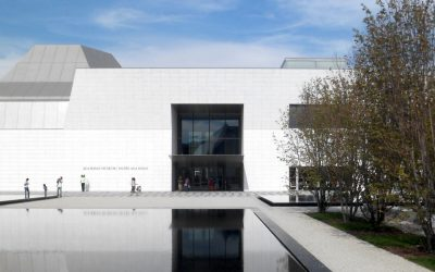 Exterior of the Aga Khan Museum.