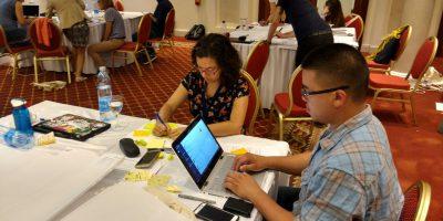 Participants at ELPUB 2017 collaborating